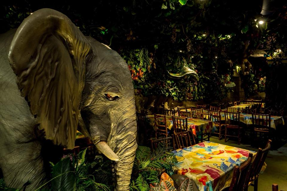 Restaurante Rainforest Café en Londres