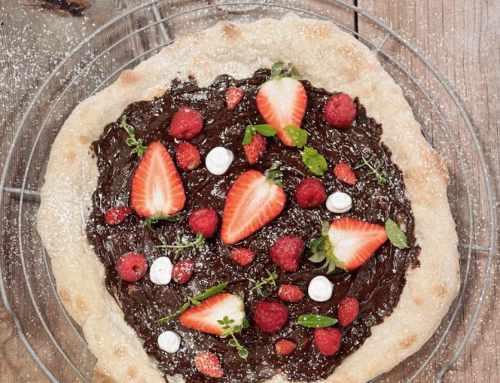 HOME PLAN: ¡Pizza de choco y fresas!